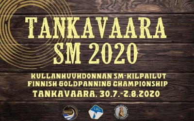 Gold Panning Finnish Championships, July 31st to Aug 2nd 2020