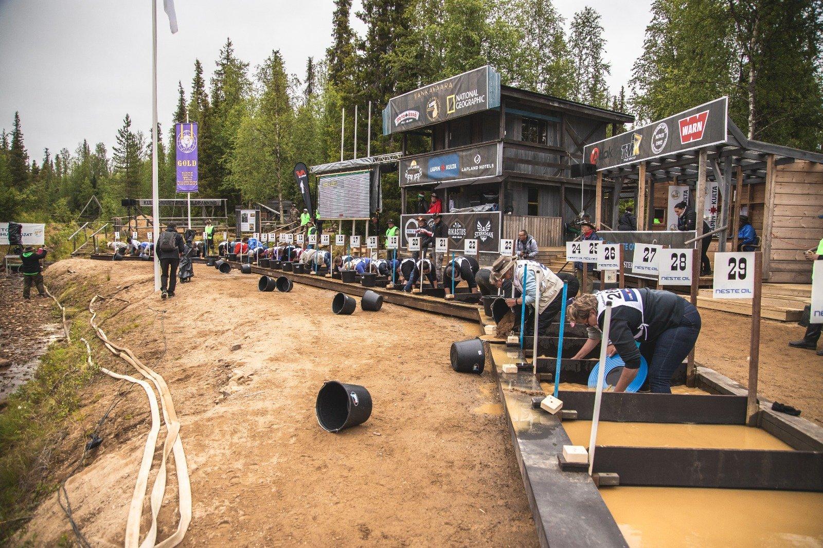 Kultakisat Tankavaarassa / Heikki Sulander